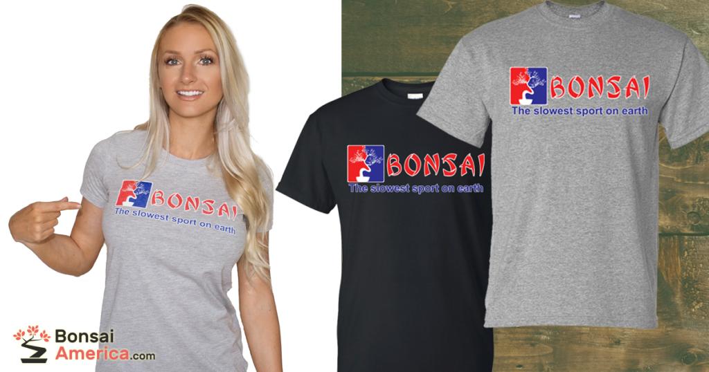 Slowest Sport on Earth Bonsai T-Shirt